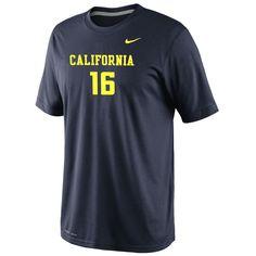 California Golden Bears Nike Dri-FIT Football #16 Legend Tee  http://www.calbearsshop.com/cal1001011421.html