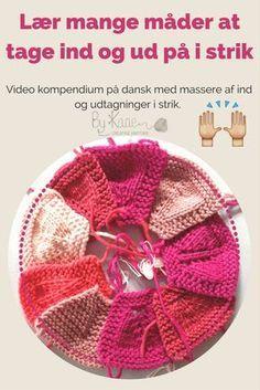 Knitting By Kaae: Sådan strikker du ind og udtagninger der hælder mo. Knitting Designs, Knitting Patterns Free, Knit Patterns, Hand Knit Blanket, Knitted Blankets, Crochet Instructions, Arm Knitting, Knitting For Beginners, Knit Crochet