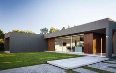 Casa PR Flat Roof, Contemporary Architecture, My Dream, Sweet Home, Garage Doors, Exterior, Outdoor Decor, Houses, Home Decor