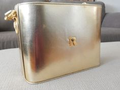 Purse Faux Leather, Gold, Medium, Rose #Rose #ShoulderBag