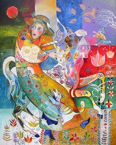 Современная живопись - Didier Delamonica. . Обсуждение на LiveInternet - Российский Сервис Онлайн-Дневников