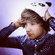 Our little fetus liam in a pANDA HAT OH MY GOSH