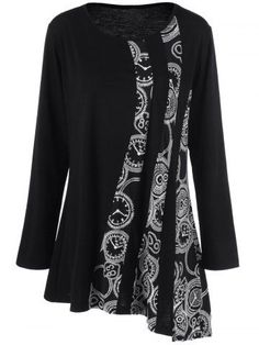 GET $50 NOW | Join RoseGal: Get YOUR $50 NOW!http://www.rosegal.com/plus-size-t-shirts/plus-size-printed-asymmetric-tunic-1001111.html?seid=2275071rg1001111