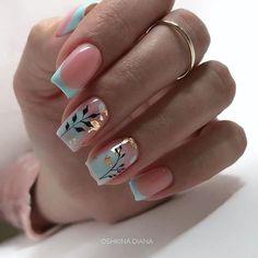 Stylish Nails, Trendy Nails, Cute Nails, Square Nail Designs, Nail Art Designs, Acrylic Nail Designs, Perfect Nails, Gorgeous Nails, Beautiful Nail Art