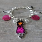 Plastique fou par Made in Pacôtilles Bracelets, Creations, Charmed, How To Make, Silver, Diy, Jewelry, I Don't Care, Jewlery