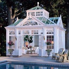 Darling Little Poolhouse