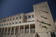 Optical Illusion on Italian School Building | Wooster Collective