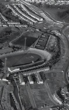 Eastville from the air, Bristol Rovers Fc, Football Stadiums, Hill Station, Britain, City Photo, The Neighbourhood, Random Stuff, Nostalgia, England
