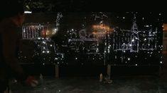 Light Graffiti Wall by Antonin Fourneau on Yellowtrace