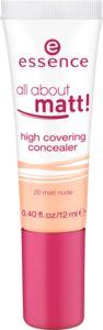 all about matt! high covering korektor 20 matt nude - essence cosmetics