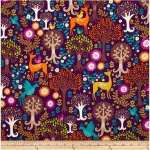 Pram Liner- Fantasy Forest