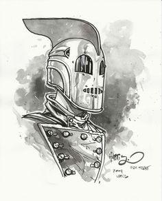 Rocketeer by Tony Harris Metropolis Comic, Iron Fist Comic, Vertigo, Dark Horse, Comic Character, Marvel Dc, Comic Art, Iron Man, Art Gallery