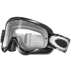 Oakley O-Frame MX Goggles with Clear Lens https://www.pinterest.com/wocycling/