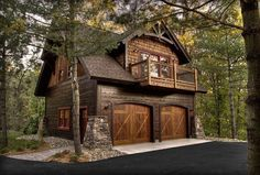 Small Cottage House Exterior Ideas - Home Decor Ideas Plan Garage, Garage House Plans, Garage Doors, Garage Ideas, Door Ideas, Jeep Garage, Garage Exterior, Cottage Exterior, Small Cottage Homes