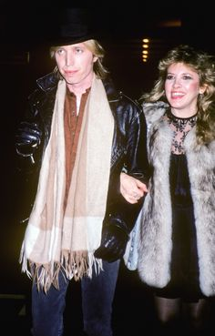 Raised on promises. Tom Petty Stevie Nicks, Tom Petty Music, Toms, Fur Coat, Jackets, Men, Friends, Dreams, Fashion