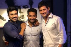 Good Times: Mahesh babu parties with Charan and Tarak - Superstar Mahesh Babu is a delighted man after the release of Bharat Ane Nenu. Galaxy Pictures, New Pictures, Mahesh Babu Wallpapers, Allu Arjun Wallpapers, Tiger Images, Ram Photos, Vijay Devarakonda, Cute Baby Videos, Actors Images