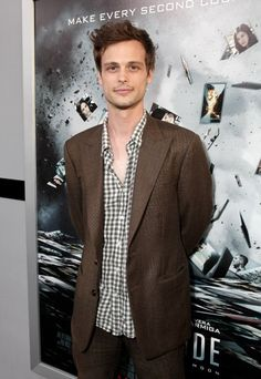 Matthew Gray Gubler...aka Dr. Spencer Reid