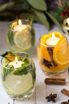 Handmade Home Decor Diwali Decorations, Christmas Decorations, Table Decorations, Holiday Decor, Diy Centerpieces, Diy Candles, Candle Jars, Floating Candles, Decoration Evenementielle