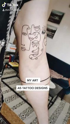 Pop Art Tattoos, Dope Tattoos, Tatoos, Equality Tattoos, Forearm Band Tattoos, See Tattoo, Cute Little Tattoos, Magic Tattoo, Minimal Tattoo Design