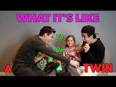 What It's Like To Be A Twin!! // Dolan Twins ft. Our Twin Cousins- This is their most adorable video It was so cute!