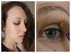 Smokey Eye Look Using One Shadow!  One brush, 5 easy steps. Perfect for beginners or busy women on the go!