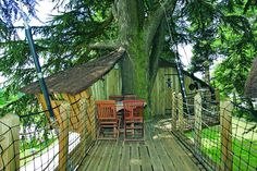 Camping***** Le Domaine des Ormes - Epiniac #Camping #Bretagne #Dol #Cabane #Glamping