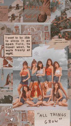 Kpop Girl Groups, Korean Girl Groups, Kpop Girls, Aesthetic Iphone Wallpaper, Aesthetic Wallpapers, K Pop, Oppa Gangnam Style, Twice Photoshoot, Twice Group
