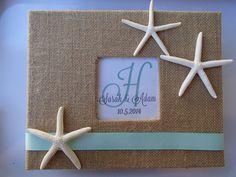 Starfish Beach Guest Book Wedding Shower by ParadiseBridal on Etsy