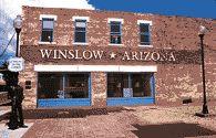 """Standin' on the Corner in Winslow, AZ"" been here :)"