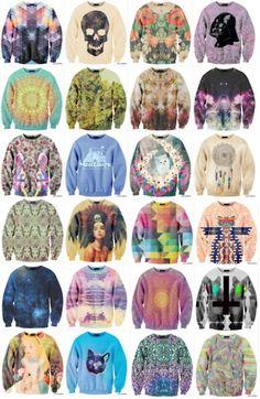 funky sweatshirts