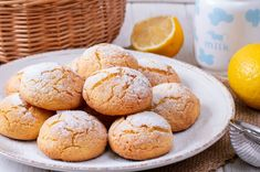 We used lemon, but you can substitute any citrus fruit you'd like when making these light cookies. Creamy Chicken Piccata Recipe, Chicken Teriyaki Recipe, Chicken Recipes, Apple Pie Recipes, Cookie Recipes, Dessert Recipes, Healthy Eating Tips, Clean Eating Snacks, Healthy Nutrition