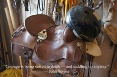This is a saddle used by inmates in the Wild Horse and Burro Program at the Central Utah Correctional Facility. Wild Horses, Utah, Riding Helmets, Funny Quotes, Funny Phrases, Funny Qoutes, Rumi Quotes, Wild Mustangs, Hilarious Quotes