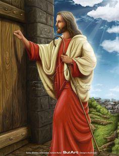 Jesus bate à sua porta!
