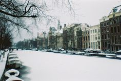 Winter in Amsterdam #lomo