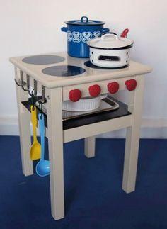 Ikea hack for kids. Playkitchen.