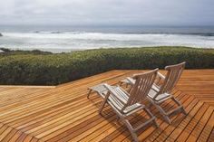 Lounge Chairs and Deck - Getty Images