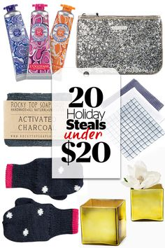 Amazing Holiday Gifts -- ALL Under $20