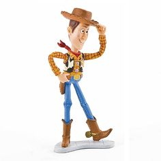 Toy Story's Woody cake topper. To view the full range, please visit http://www.craftcompany.co.uk/cake-decorations/disney-cake-decorations/disney-cake-toppers.html