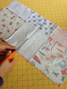 I finally finished the quilt I've been giving you all sneak peaks of :) This quilt comes together really fast with easy patchwork and cutting, and the design works perfect with this beautif…