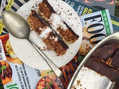 All the indulgence, without the guilt! GF, SF, DF and Vegan Salted Caramel Slice, Chicken Livers, Healthy Treats, Jules Blog, Sugar Free, Cravings, Dairy Free, Homemade, Vegan