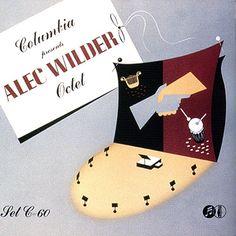 Alec Wilder Octet, Label: Columbia C-60(1941)Design: Alex Steinweiss. Music Covers, Album Covers, Jazz, Record Art, My Eyes, Christmas Stockings, Holiday Decor, Illustration, Artwork