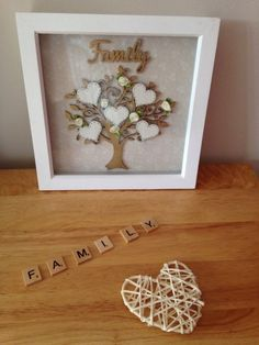FATHER'S DAY Gift Personalised Family Tree 4 a special someone on FATHER'S DAY | eBay