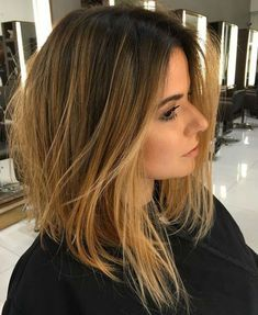 17 Of the Sizzling Brown Bob Hairstyles for Women to Look Classy This Year Hair Color 2018, Hair 2018, Balayage Brunette, Balayage Hair, Balayage Long Bob, Long Bob Ombre, Long Bob Brunette, Textured Long Bob, Hair Streaks