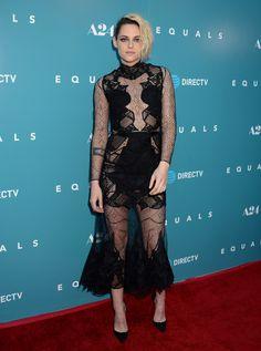 H o l l y w o o d   F a s h i o n - Kristen Stewart in Jonathan Simkhai at the LA...