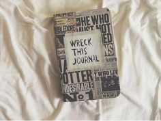 wreck this journal harry potter - Buscar con Google
