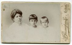 BEAUTIFUL! Russia: Cabinet Portrait of Russian family 1900s boy girl mom Kursk fashion clothes haircut studio portrait by PhotoMemoriesLane on Etsy