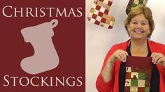 Quilted Christmas Stockings: An Easy Quilting Project with Jenny of Missouri Star Quilt Company. I love this!!!