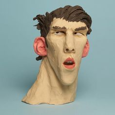 On @itsnicethat today, my plasticine heroes and villains of the Olympics. This is Michael Phelps. Photography by @stephenson_luke