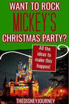 Mickey's Very Merry Christmas Party Guide 2020 Disney World Florida, Disney World Vacation, Disney Vacations, Disney World Christmas, Mickey Christmas, Disney World Tips And Tricks, Disney Tips, Walt Disney, Disney Vacation Planning