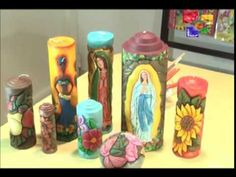 VELAS TALLADAS AFRICANAS - PARTE 1 y 2 -TALENTO ARTESANO - YouTube Carved Candles, Candels, Hand Carved, Carving, Youtube, Painting, Made By Hands, Ideas, Candle Making